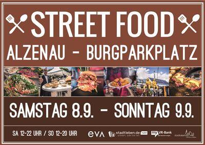 3. Alzenauer Street Food Festival & Market Wir kommen wieder - dieses Mal auf den Burgparkplatz