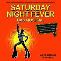 Saturday Night Fever bei den Burgfestspielen Alzenau 2019