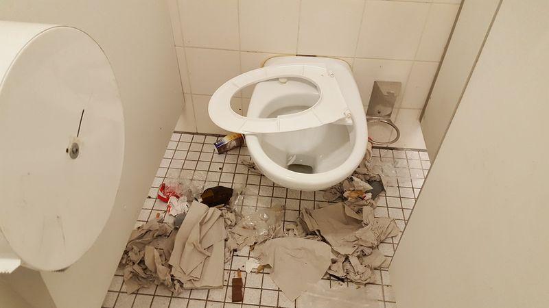 Sex In Der öffentlichen Toilette